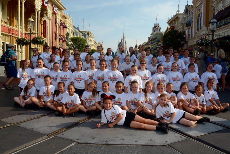 Dance Connection - 2016 Company Students Group at Disney World